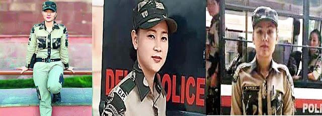 Phumsang Bhutia, Sonira Subba and Kavita Sharma