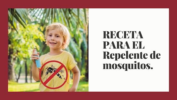 ▷ Repelente de mosquitos natural RECETA profesional 100% ®