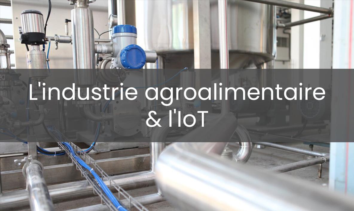 l'industrie agroalimentaire et l'IdO