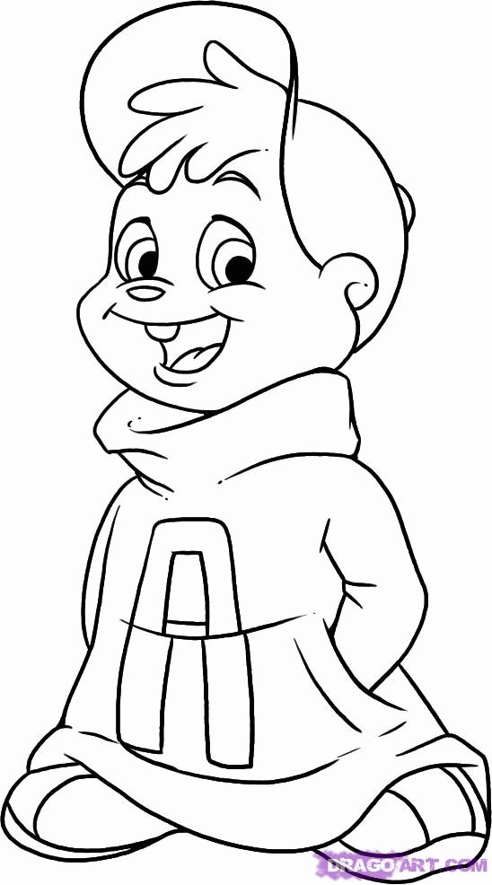 books coloring pages alvin and the chipmunks