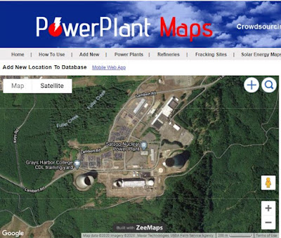Satsop Nuclear Power Plant in Elma, Washington