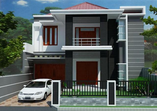 desain interior rumah klasik minimalis 2 lantai type 36
