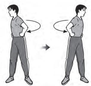 Latihan kelentukan otot pinggang