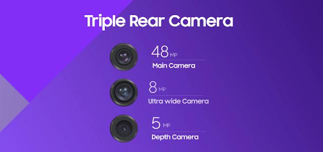 Kamera Samsung A50s dengan Samsung A50