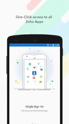 Screenshot Zoho OneAuth - Apcoid