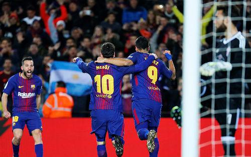 Barcelona cần một chiến thắng để tiếp tục ngự trên đỉnh bảng xếp hạng