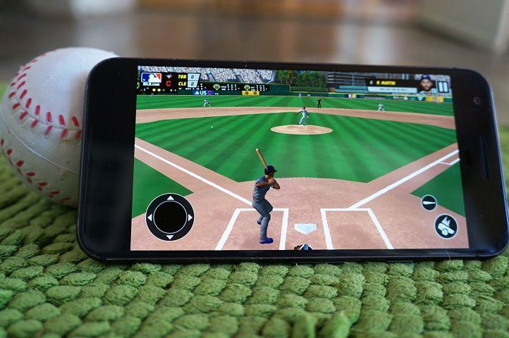 mejores juegos de béisbol para descargar en Android