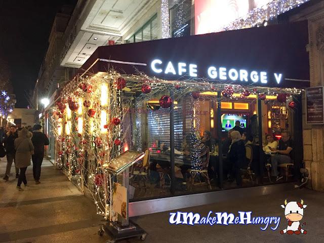Cafe George V Paris Restaurant
