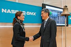 NASDAQ OMX (US & North Europe) stock exchange -New York City