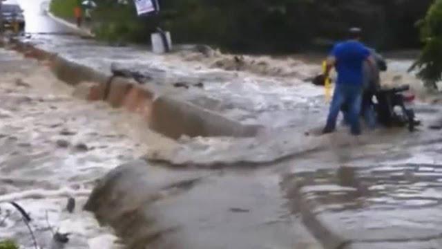Resultado de imagen para desbordamiento del río Amina