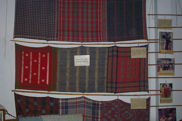 Real Madras Handkerchiefs Dakshinachitra