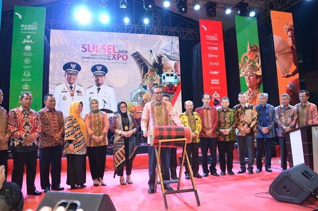 Wabup Sinjai Hadiri Pameran Pembangunan Sulsel 2019
