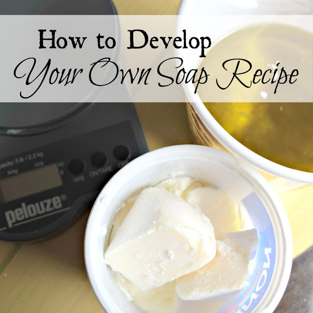 How to formulate your own soap recipe