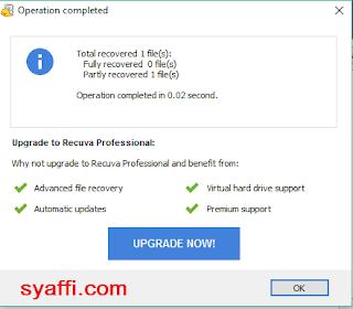 Cara Mengembalikan File yang Tidak Sengaja di Hapus pada Windows 10 (dari Flashdisk juga)