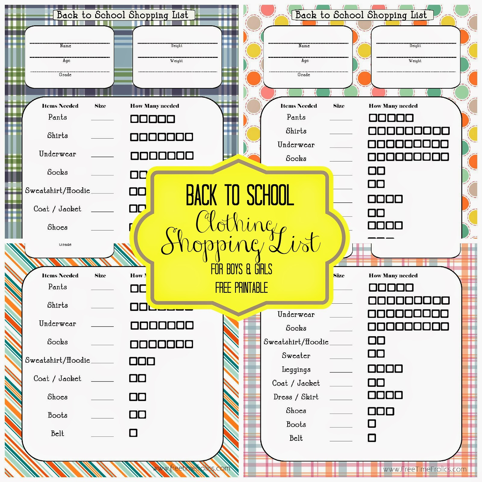 Shopping List {Free Printable} + Giveaway