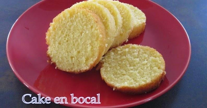 Cake Au Citron En Bocaux