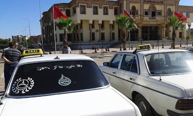 سائقوا الطاكسيات يعتدون على رجل أمن ركن سيارته بالباركينغ المجاور للمنطقة الأمنية لبرشيد