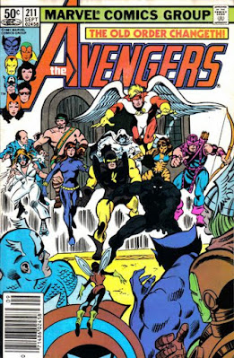 Avengers #211, Everybody wants to be an Avenger