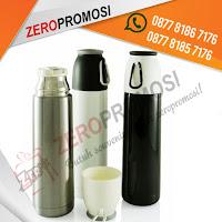 Barang Promosi Custom Alpha Vacuum Flask Merchandise, Souvenir TUMBLER BOTOL MINUM, Termos Air / Vacuum Flask Alfa 500 ML Mizzu, Barang Promosi termos, Merchandise Termos Standart Murah