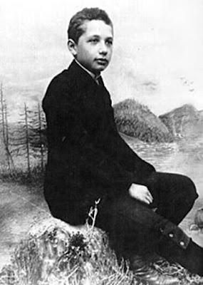 Einstein jeune