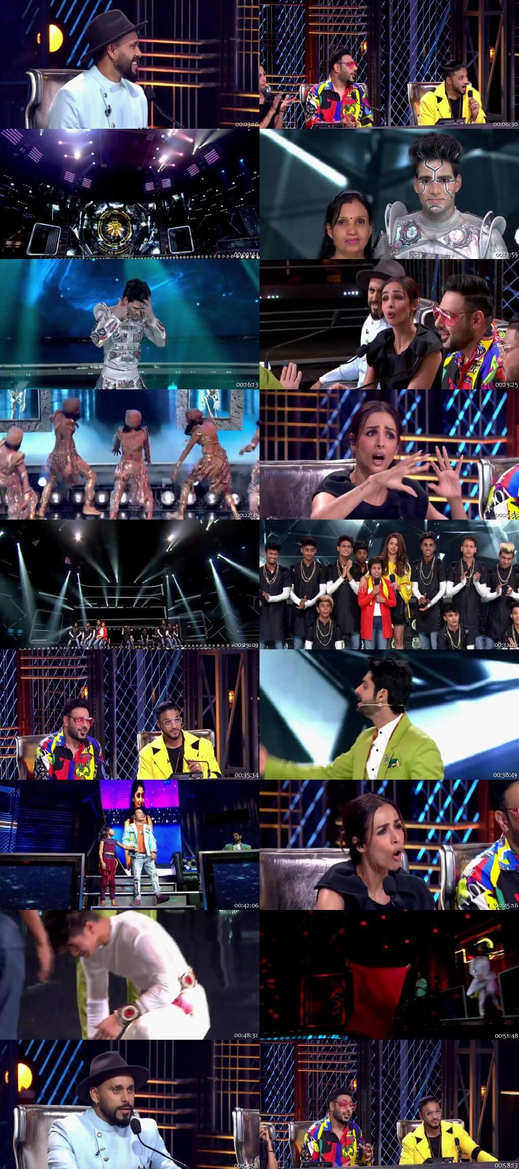 Screenshots Of Hindi Show Dance India Dance Battle of the Champions Season 7 27th July 2019 Episode 11 300MB 480P HD