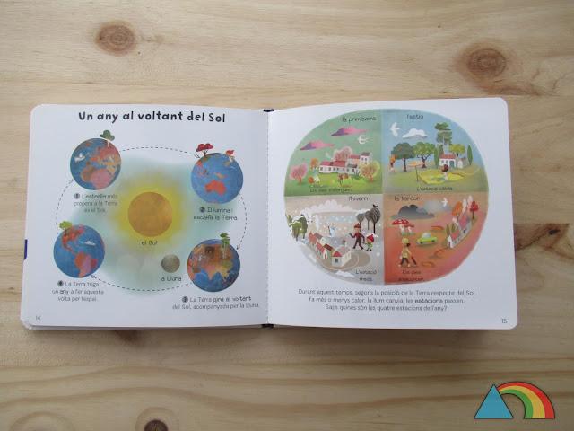 Interior del libro Baby enciclopedia Larousse: El Universo