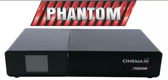 Phantom Cinema 4K Atualização SKS 75W - 29/11/2020