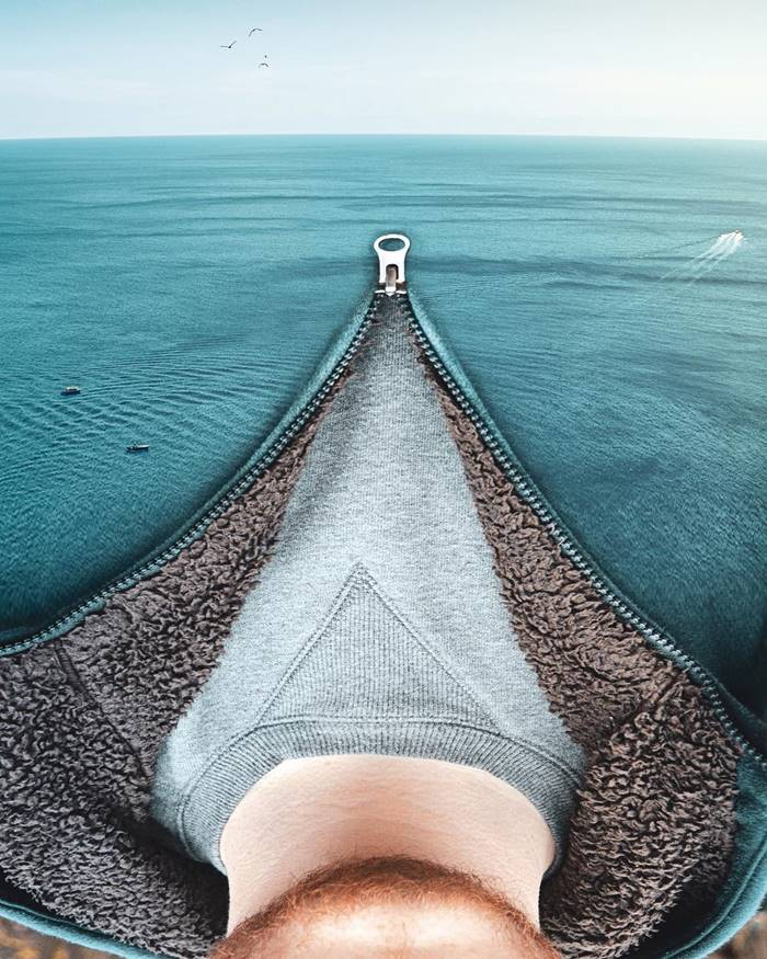 Confusing photo manipulations by Monica Carvalho