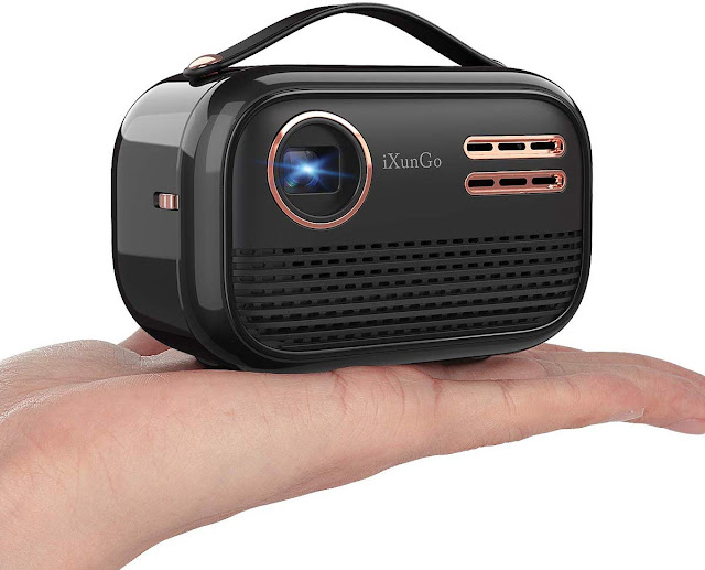 Portable Wi Fi projector