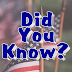 Did You Know? - US Flag