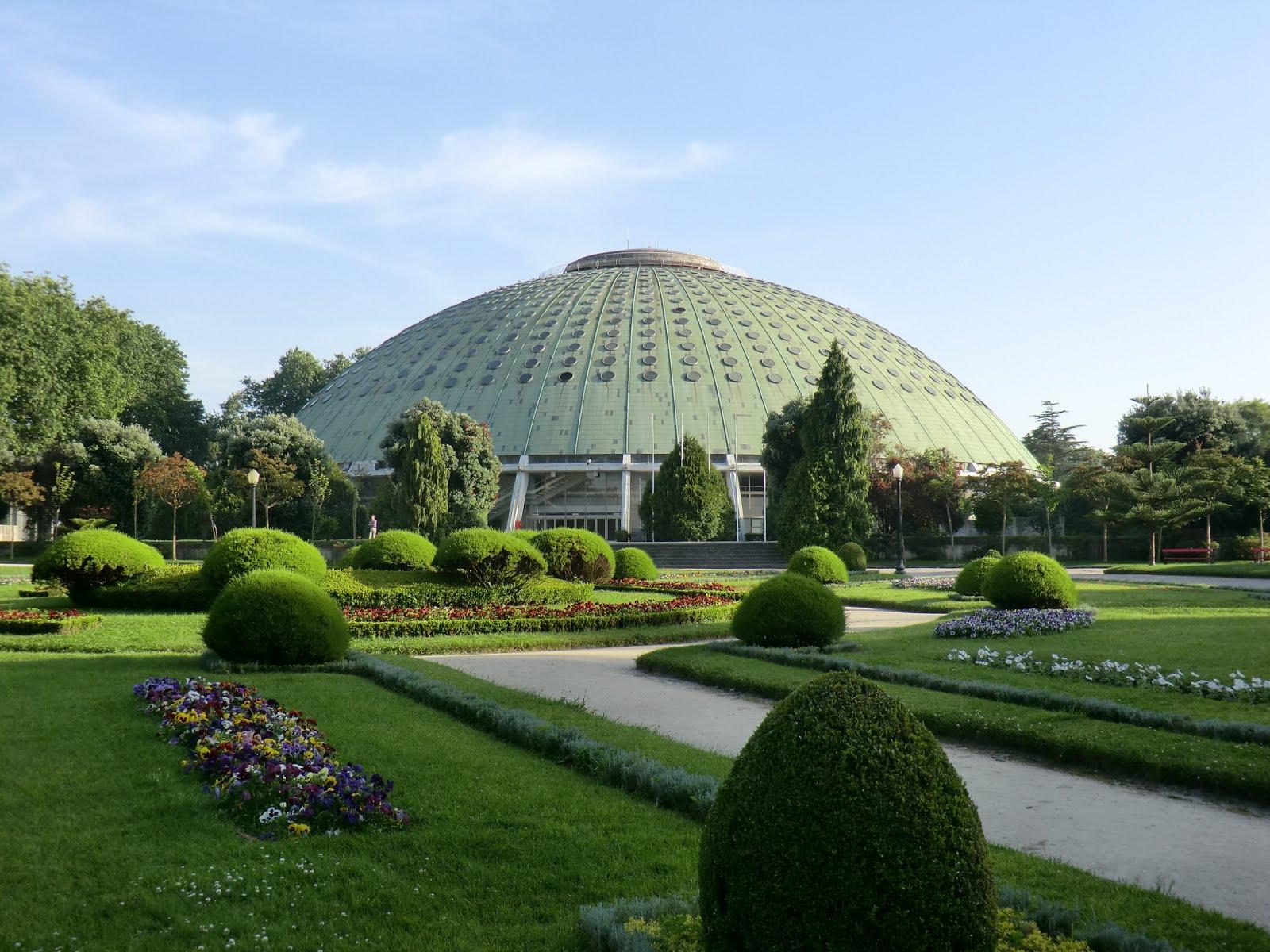 Metido en jardines romanticismo en oporto jardines del for Jardines del palacio de cristal oporto