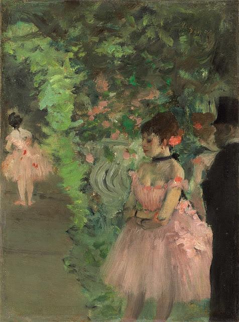 Эдгар Дега - Танцовщицы за кулисами (1876-1883)