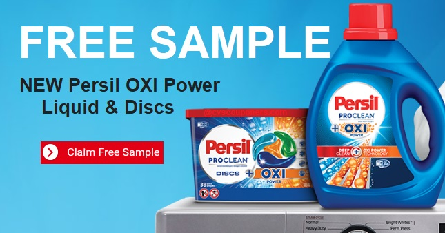 FREE Sample Persil ProClean OXI Power