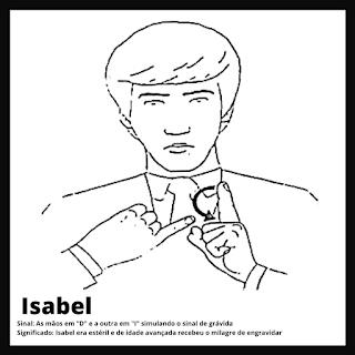 Isabel em Libras