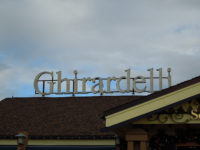 Ghirardelli chocolate shop in Downtown Disney