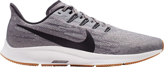 Nike Men's Air Zoom Pegasus 36 Running Shoes - Gunsmoke Oil Grey White