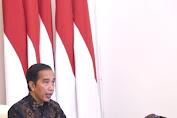 Presiden Jokowi Serahkan Zakat ke Baznas secara Daring
