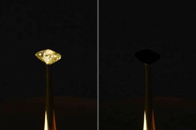 Mỹ phát triển loại vật liệu đen nhất hấp thụ gần 100% ánh sáng