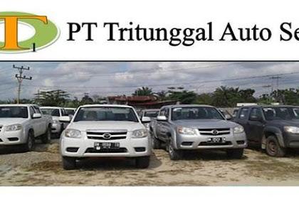 Lowongan Kerja PT. Tritunggal Auto Sejati Pekanbaru November 2018
