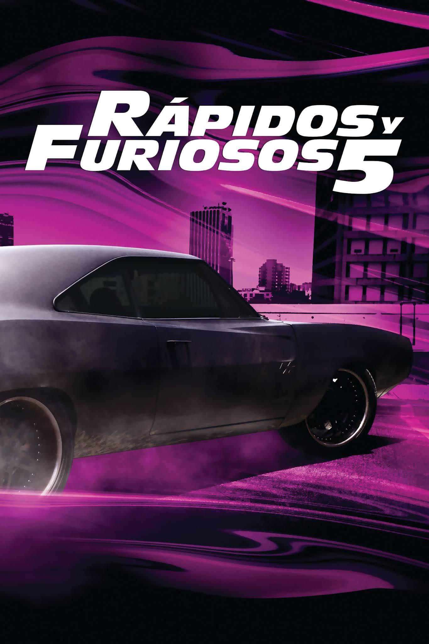 Rápido y Furioso 5 (2011) [Open Matte] WEB-DL 1080p Latino