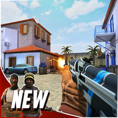 Download Hazmob FPS : Online multiplayer fps shooting game For Android XAPK