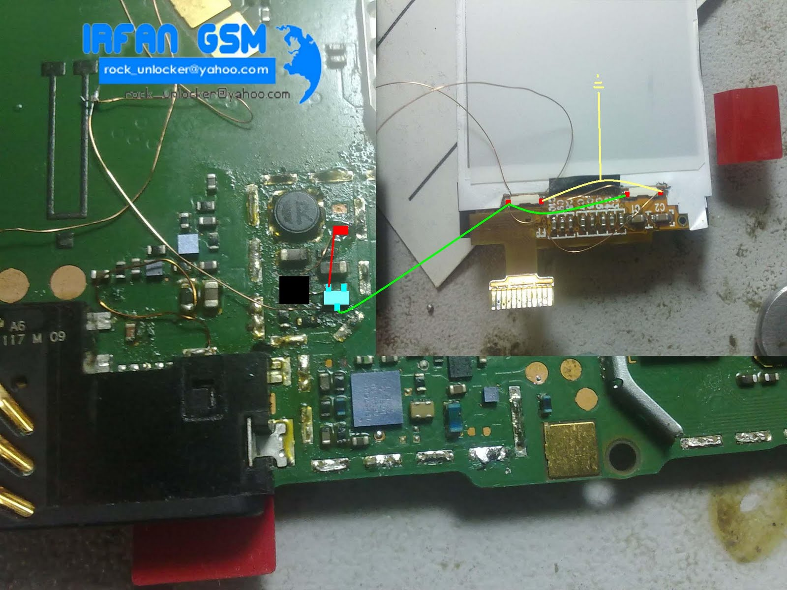 Nokia 5130 Display Light Solution Diagram - GSMHosters
