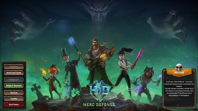 [Game] Hero Defense: Haunted Island