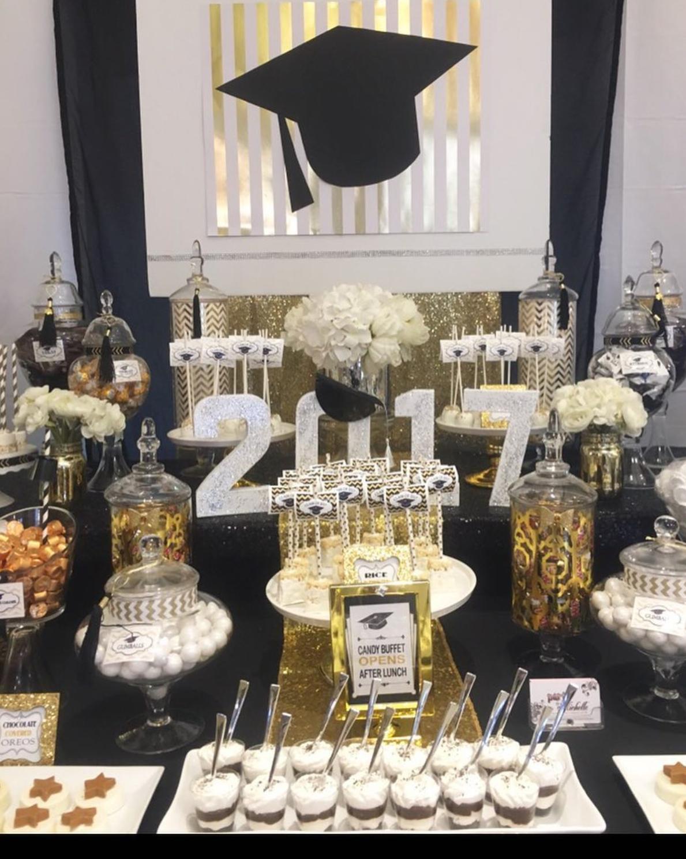 101 fiestas decora tu mesa de dulces de graduaci n for Decoracion de grado
