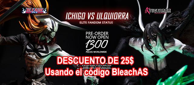 Bleach Ichigo VS Ulquiorra de Figurama Collectors, YA EN PRE-ORDER.