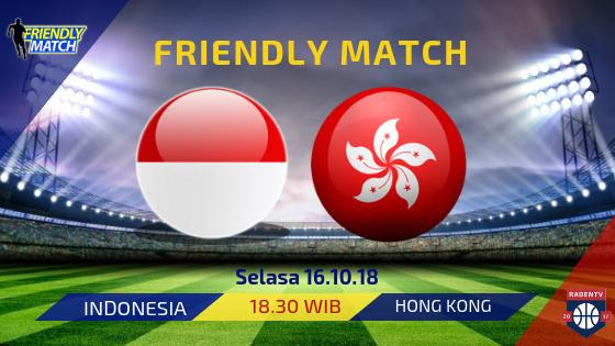 Streaming Indonesia vs Hong Kong