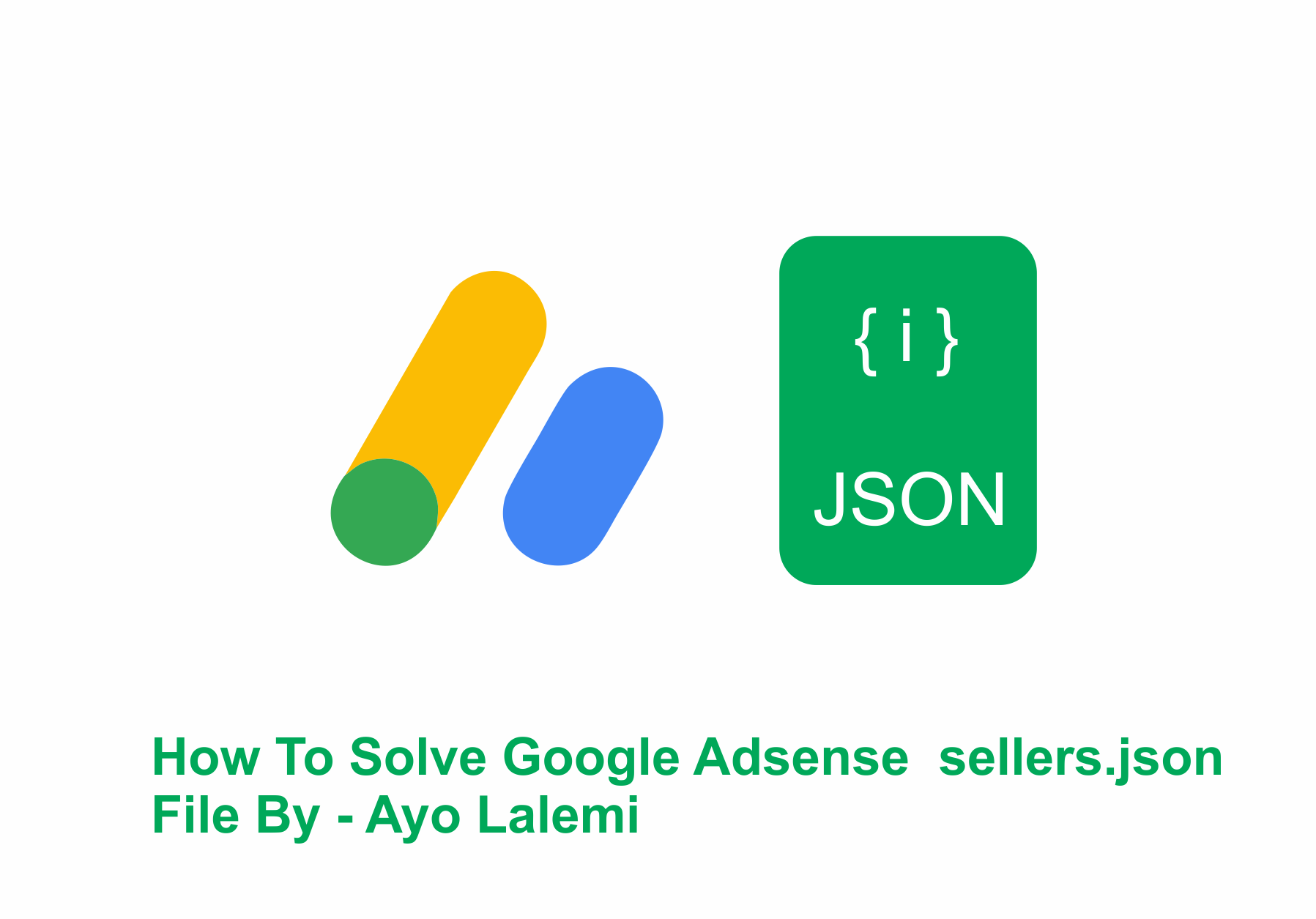 How To Solve Google Adsense  sellers.json File