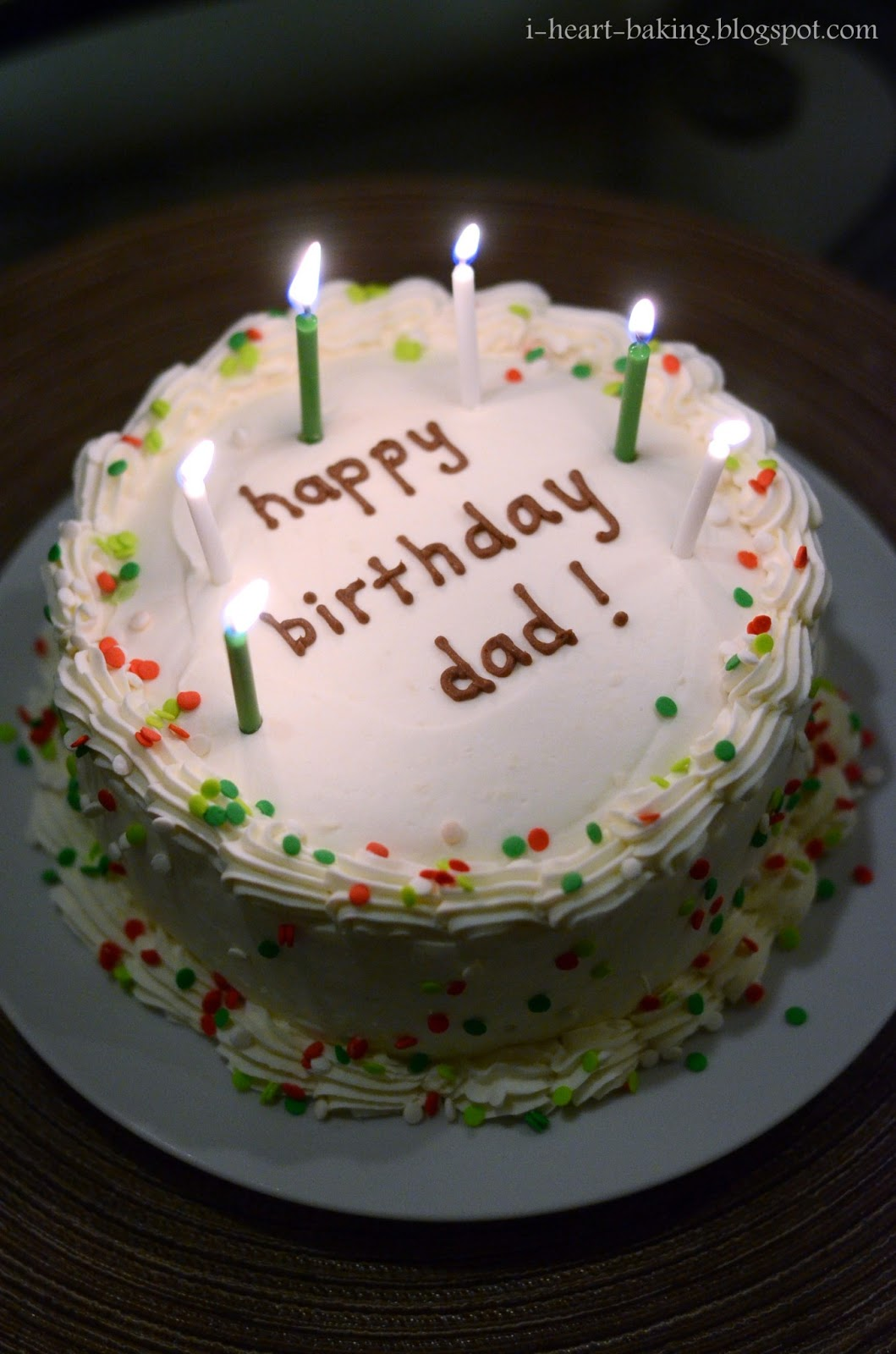 Birthday Cake For Papa With Candle Image Inspiration of Cake and
