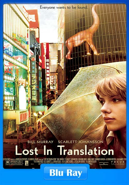 Lost in Translation 2003 720p BluRay Hindi ESub x264 | 480p 300MB | 100MB HEVC Poster