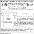 National Council of Science Museums Recruitment 2019 - Government jobs for Section Officers and Engineer Posts